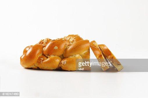 Czech Christmas bread : Foto de stock