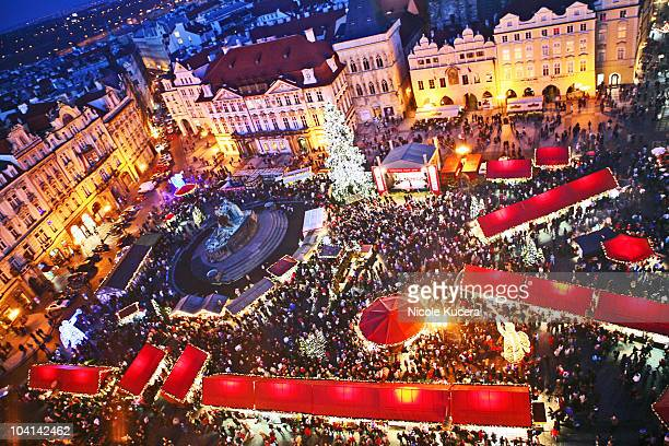 Czech Christmas Markets at Prague Old Town Square
