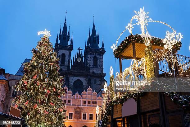 Czech Republic, Prague, Church of Our Lady before Tyn