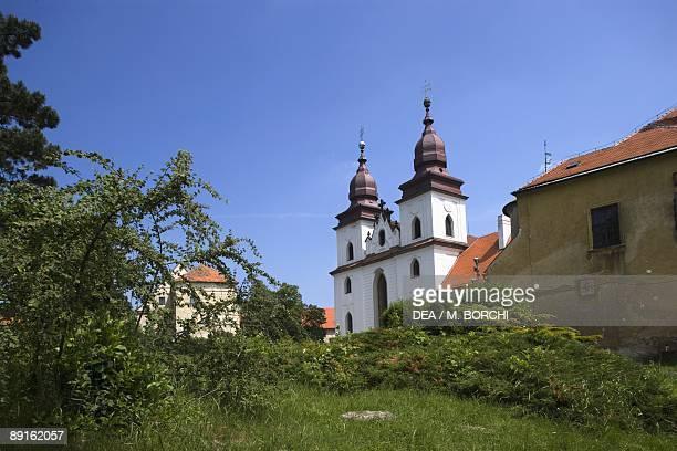 Czech Republic Southern Moravia Trebc St Procopius's Basilica UNESCO World Heritage List 2003