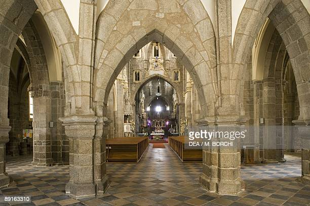 Czech Republic Southern Moravia Trebc St Procopius's Church UNESCO World Heritage List 2003 Interior