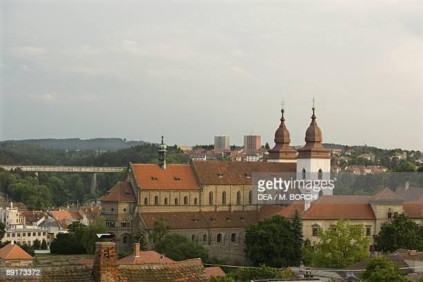 Czech Republic Southern Moravia Trebc St Procopius's Church UNESCO World Heritage List 2003