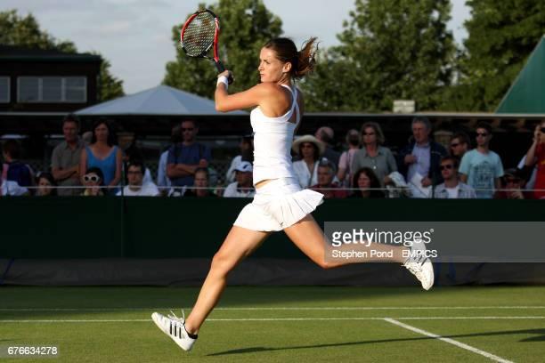 Czech Republic's Iveta Benesova during her match against Russia's Anastasia Pavlyuchenkova