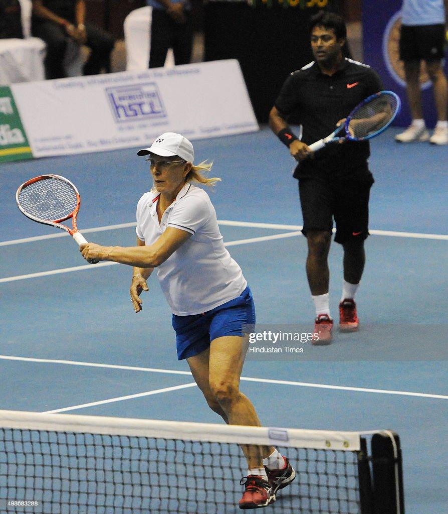 Czech Tennis Star Martina Navratilova Arrives In Kolkata s