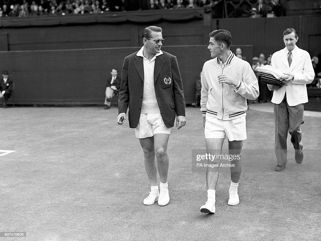 Tennis Wimbledon Championships 1954 All England Club Men s