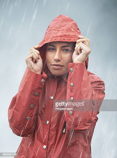 I'd be soaked if it wasn't for my anorak