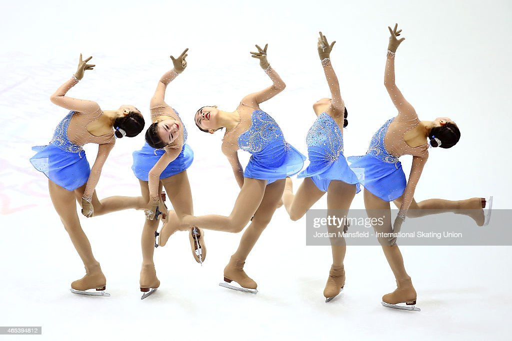 Da Bin Choi of Korea performs during the Women's Free Skating on Day 3 of the ISU World Junior Figure Skating Championships at Tondiraba Ice Arena on...
