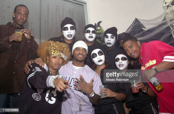 Da Brat and Larenz Tate with guests during Remy Martin Hosts 3rd Annual ' Eyes Wide Shut Masquerade Ball' at Vision NightClub Lounge in Atlanta...
