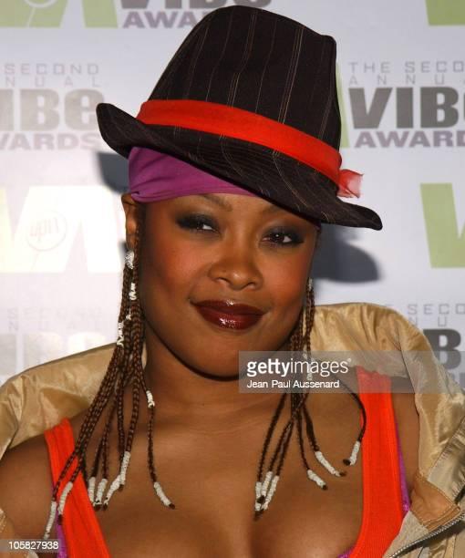 Da Brat during 2004 Vibe Awards Arrivals at Barker Hanger in Santa Monica California United States