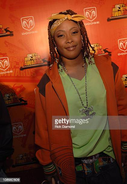 Da Brat during 2006 BET HipHop Awards Red Carpet at Fox Theatre in Atlanta Georgia United States