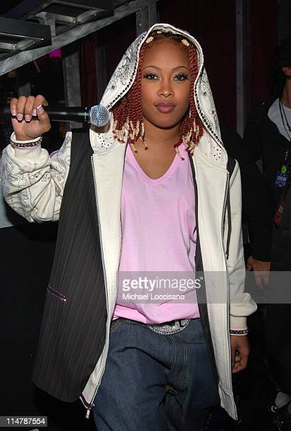 Da Brat during 2006 VH1 Hip Hop Honors Backstage and Audience at Hammerstein Ballroom in New York City New York United States