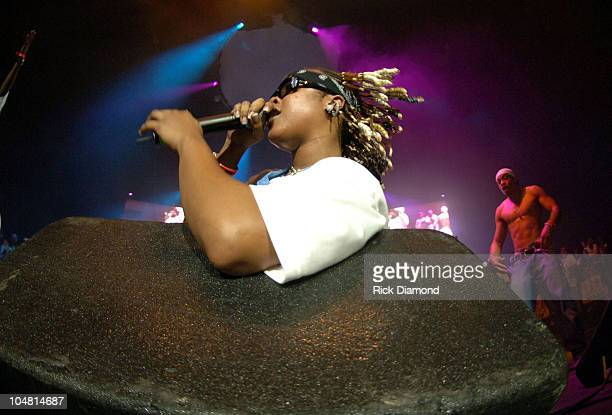 Da Brat during HOT 1079 Birthday Bash 10 at HiFi Buys Amphitheater in Atlanta Georgia United States