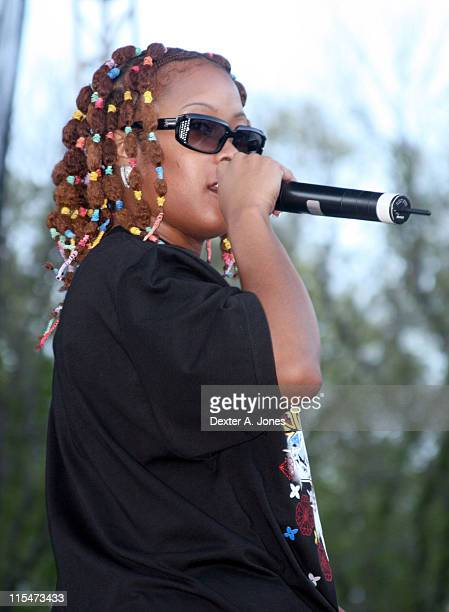 Da Brat during Power 1041 FM Hosts a Concert at Six Flaggs New England in Agawam Massachusetts May 12 2007 at Six Flaggs New England in Agawam...