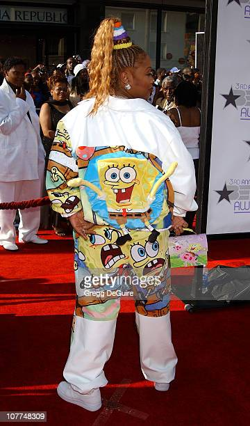 Da Brat during The 3rd Annual BET Awards Arrivals at The Kodak Theater in Hollywood California United States