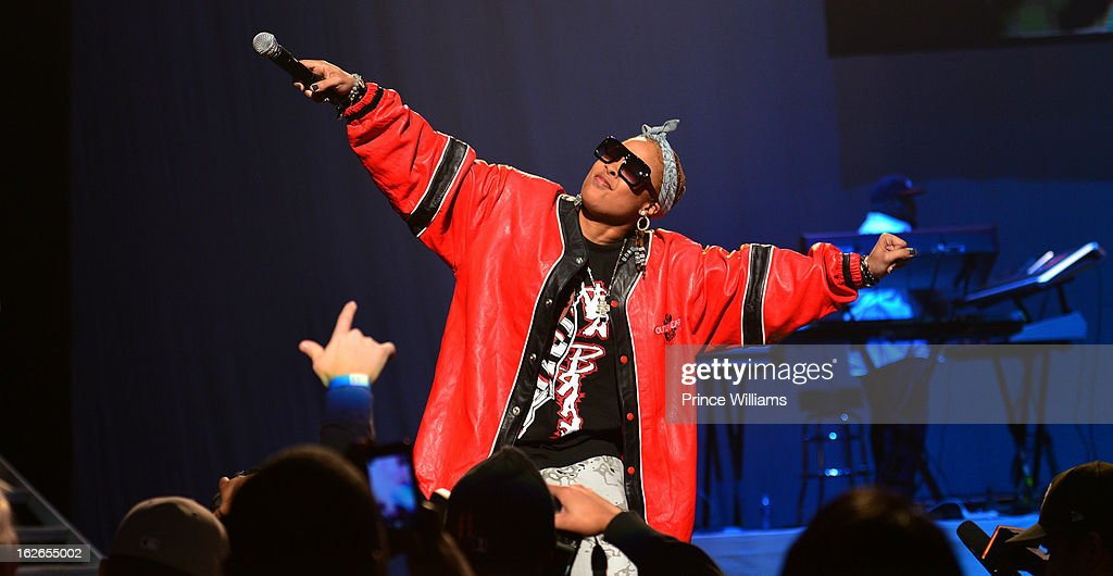 <a gi-track='captionPersonalityLinkClicked' href=/galleries/search?phrase=Da+Brat&family=editorial&specificpeople=594020 ng-click='$event.stopPropagation()'>Da Brat</a> performs at the So So Def 20th anniversary concert at the Fox Theater on February 23, 2013 in Atlanta, Georgia.