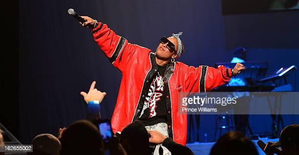 Da Brat performs at the So So Def 20th anniversary concert at the Fox Theater on February 23 2013 in Atlanta Georgia