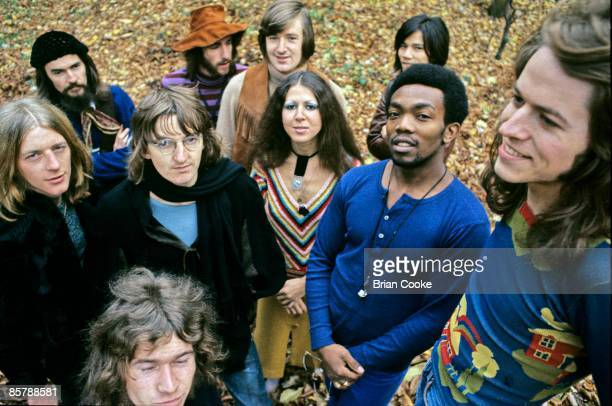 Da Da featuring Pete Gage Elkie Brooks and Robert Palmer in the Grounds of York University in December 1970