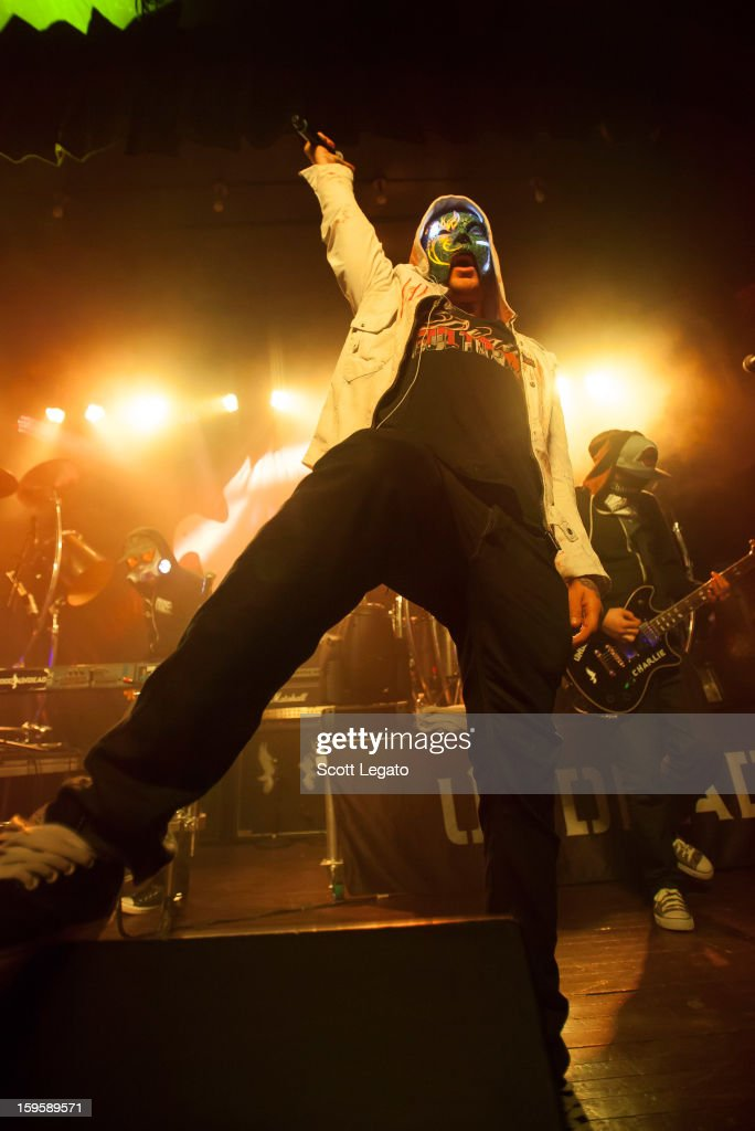 Da Kurlzz of Hollywood Undead performs in concert at St. Andrew's Hall on January 16, 2013 in Detroit, Michigan.