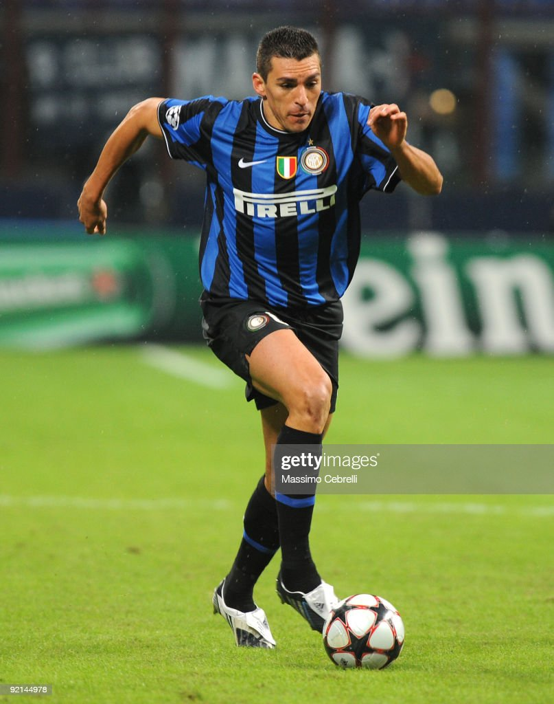 Da Silva Ferreira Lucimar Lucio of FC Inter Milan in action during the UEFA Champions League matchday 3 Group F match between FC Inter Milan and FC...