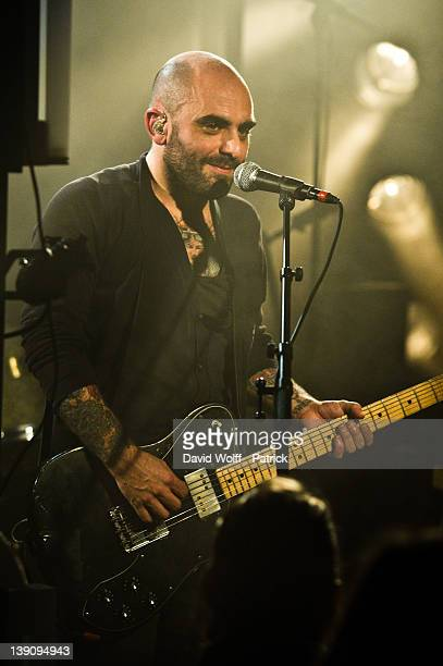 Da Silva performs at La Maroquinerie on February 16 2012 in Paris France