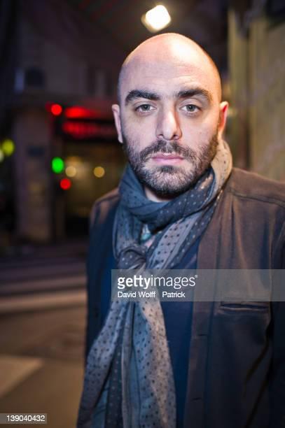 Da Silva portrait session in Paris on February 15 2012 in Paris France