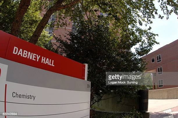 Dabney Hall signage is seen on the North Carolina State Campus it is the main building for graduate and undergraduate studies in chemistry July 15...