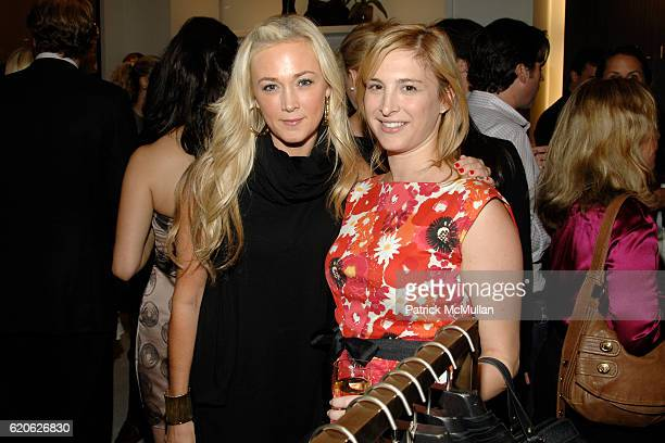 Dabney Mercer and Laura Lachman attend VOGUE and ELIE TAHARI host cocktails to celebrate TATIANA BONCOMPAGNI's new book GILDING LILY at Elie Tahari...