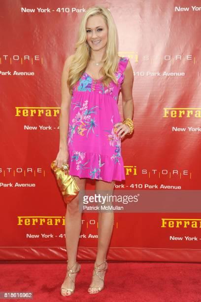 Dabney Mercer attends The FERRARI Store of New York Launch Party at FERRARI Store of New York on June 23 2010 in New York City