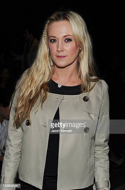 Dabney Mercer attends the Richie Rich Spring 2011 fashion show during MercedesBenz Fashion Week at The Studio at Lincoln Center on September 9 2010...