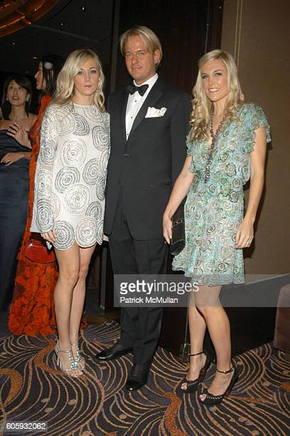 Dabney Mercer Daniel Benedict and Tinsley Mortimer attend The Friends of New Yorkers For Children 'New Years in April A Fool's Fete' Sponsored by...