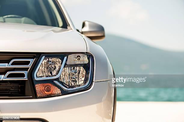 Dacia Duster SUV-Detailarbeit