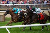 Dacita with Irad Ortiz Jr up wins the Grade I Diana Stakes on July 23 2016 at Saratoga Race Course Saratoga Springs NY