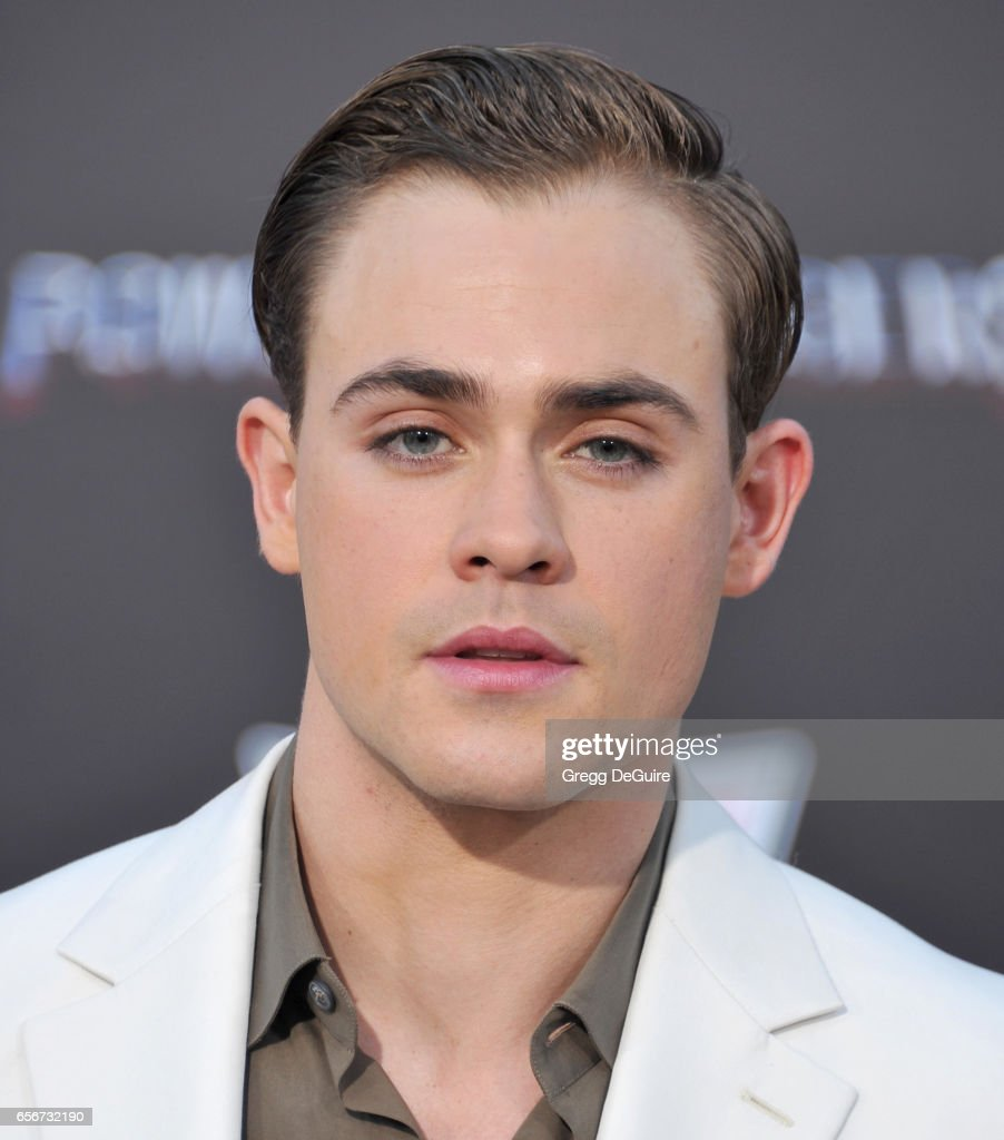 Dacre Montgomery arrives at the premiere of Lionsgate's 'Power Rangers' at The Village Theatre on March 22, 2017 in Westwood, California.