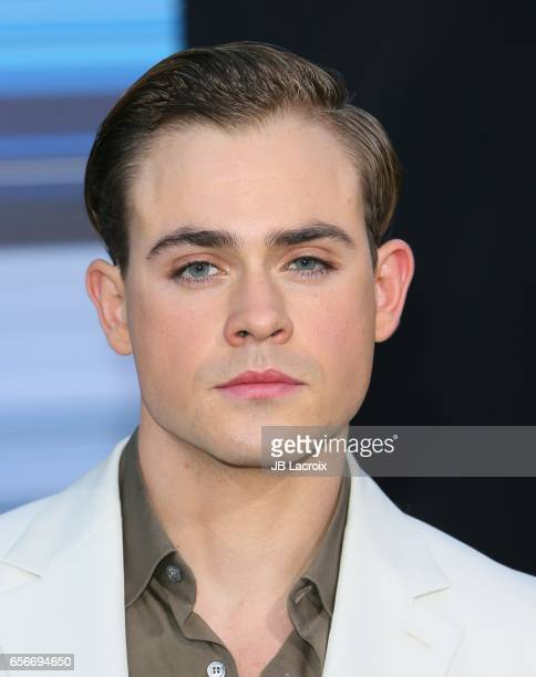 Dacre Montgomery attends the premiere of Lionsgate's 'Power Rangers' on March 22 2017 in Westwood California