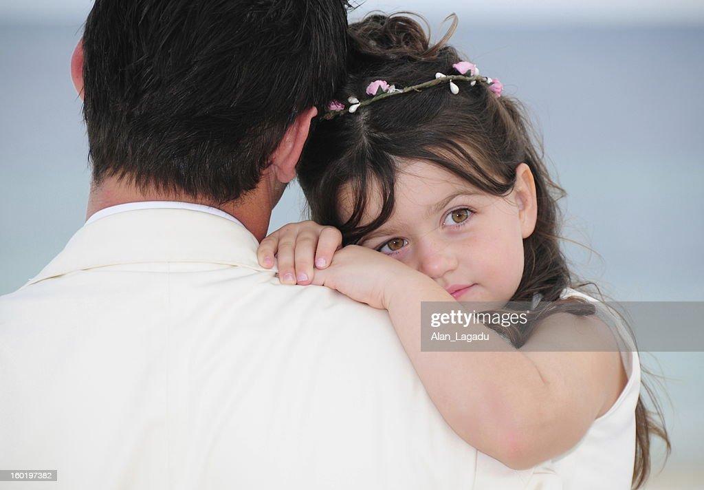 Daddies Girl, Cancun, Mexico : Stock Photo