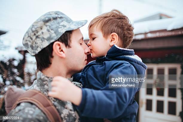 Daddy Soldaten ist zurück