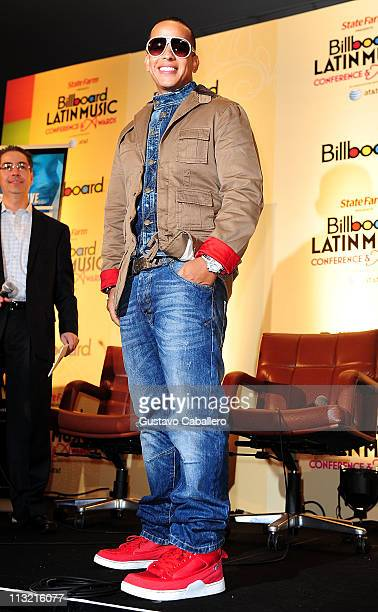 Daddy Yankee attends 2011 Billboard Latin Music Conference at Eden Roc a Renaissance Beach Resort and Spa on April 27 2011 in Miami Beach Florida