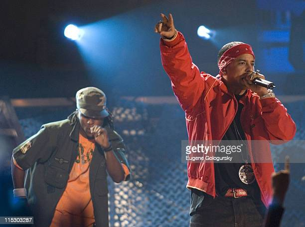 Daddy Yankee during Daddy Yankee Performs at MTV $2 Bill Concert at the Paradise Theater in New York June 5 2006 at Paradise Theater in New York New...
