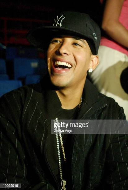 Daddy Yankee during Daddy Yankee Taping His Spot on 'Queridos Reyes Magos' Banco Popular Christmas TV Special at Quijote Morales Coliseum in Guaynabo...