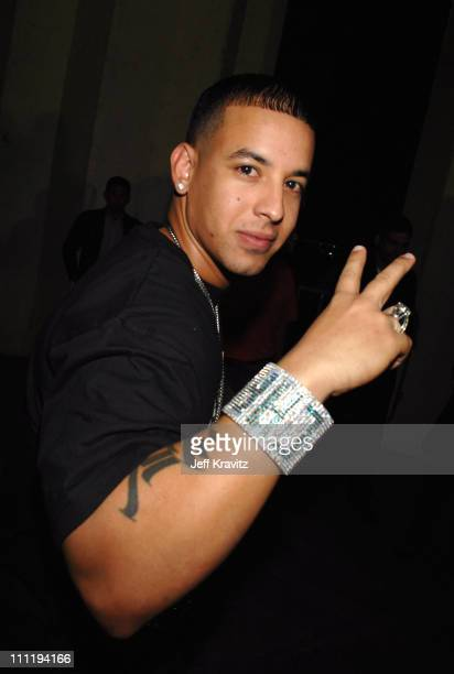 Daddy Yankee during MTV Video Music Awards Latin America 2006 Red Carpet at Palacio de los Deportes in Mexico City Mexico