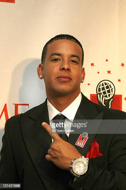 Daddy Yankee during Time Magazine 100 Most Influential People 2006 Party at Jazz at Lincoln Center in New York New York United States