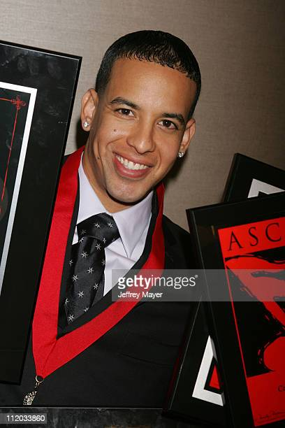 Daddy Yankee honoree Songwriter of the Year during ASCAP El Premio Music Awards at Beverly Hilton Hotel in Beverly Hills California United States