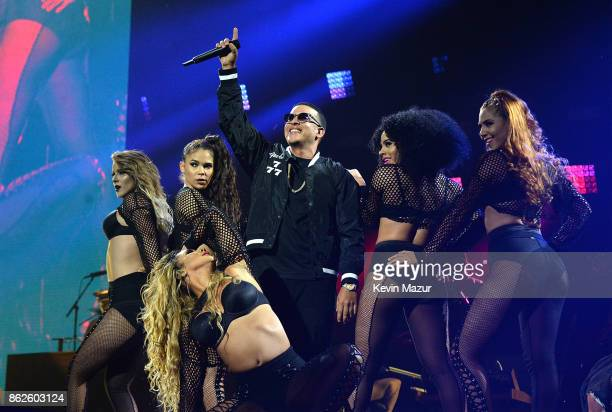 Daddy Yankee performs onstage during TIDAL X Brooklyn at Barclays Center of Brooklyn on October 17 2017 in New York City