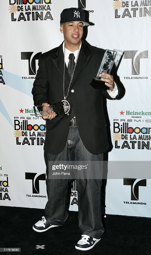 Daddy Yankee winner Top Latin Albums Artist of the Year Reggaeton Album of the Year for 'Barrio Fino En Directo' and Reggaeton Song of the Year for...