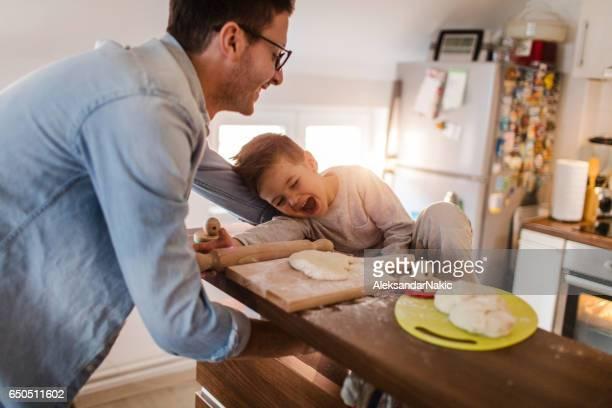 Daddy's little baker