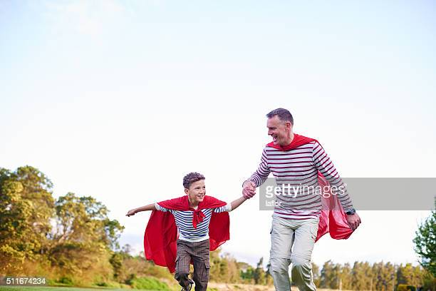 Dads are the real superheroes