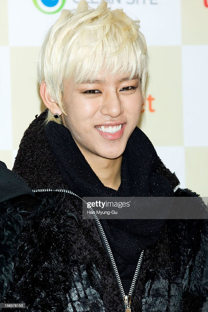 Dae Hyun of South Korean boy band B.A.P arrives at the 2012 Melon Music Awards at Olympic Gymnasium on December 14, 2012 in Seoul, South Korea.