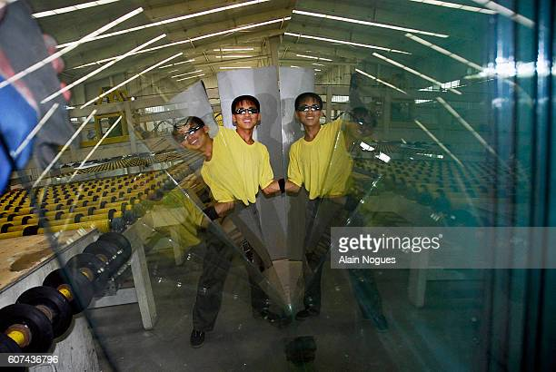DaeAn state of the art glass factory is an ultramodern industry offered to North Korea as a friendship gesture by the Chinese The 20 million euro...