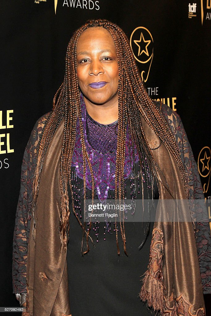 Dael Orlandersmith arrives at the 31st Annual Lucille Lortel Awards at NYU Skirball Center on May 1, 2016 in New York City.