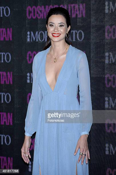 Dafne Fernandez attends the Cosmopolitan Beauty Awards at Platea Restaurant on July 7 2014 in Madrid Spain